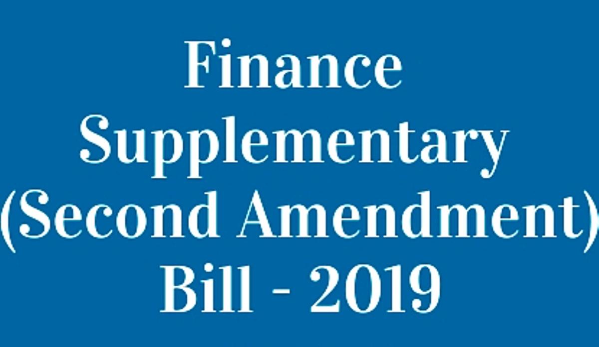 Finance Second Bill 2019