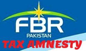 FBR amnesty