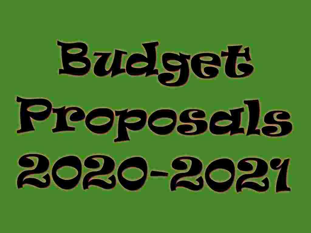budget proposals 2020-2021