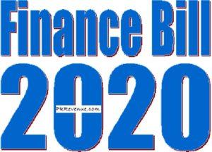 finance bill 2020