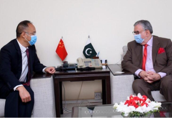 China Pakistan FM Envoy