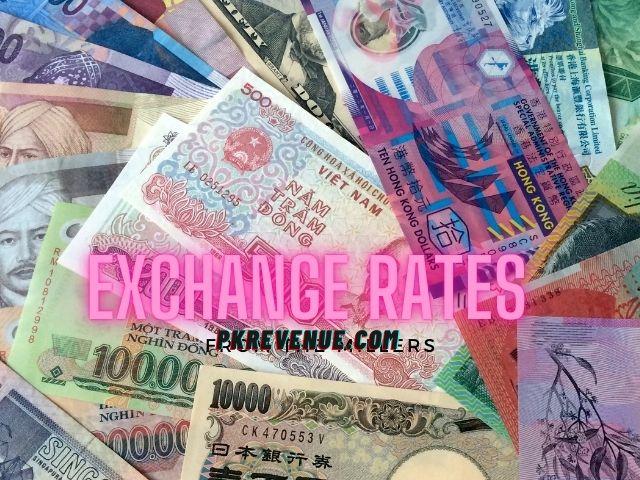 Pakistan's exchange rates on October 24