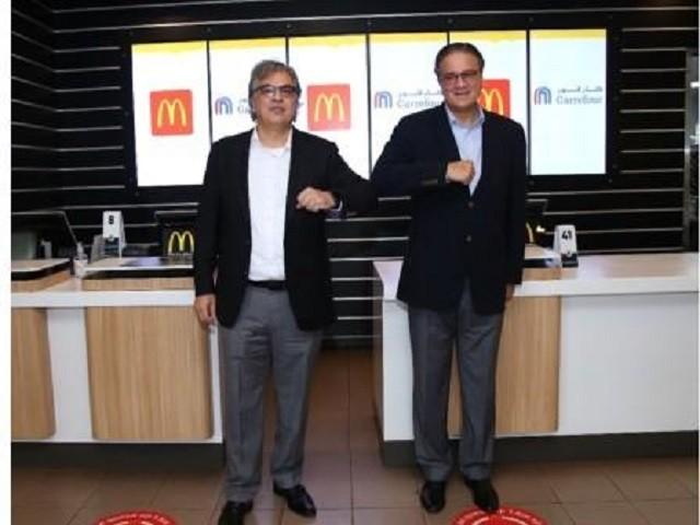 Carrefour - McDonald